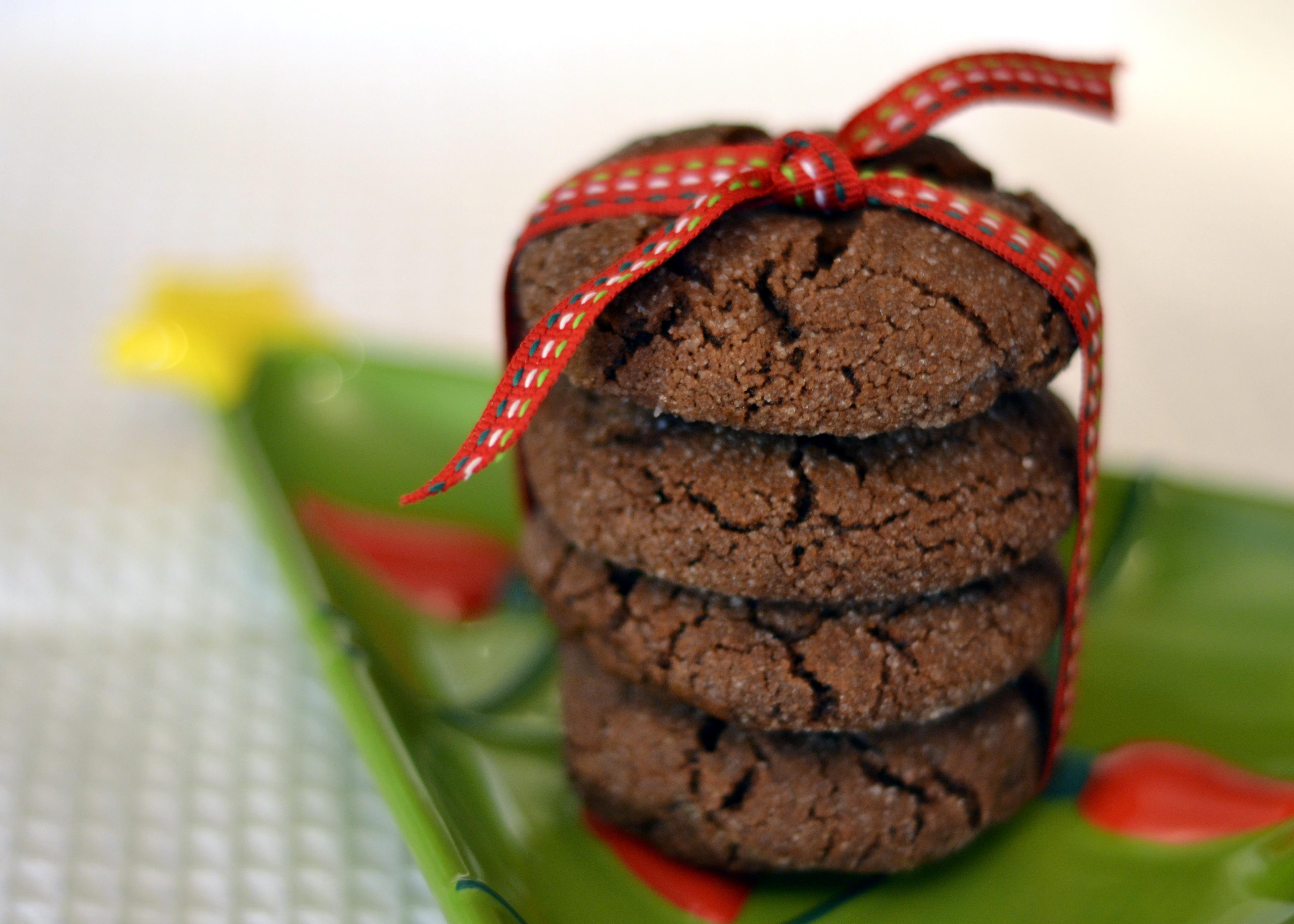 Dark Chocolate Orange Crackles - Chew Nibble NoshChew Nibble Nosh