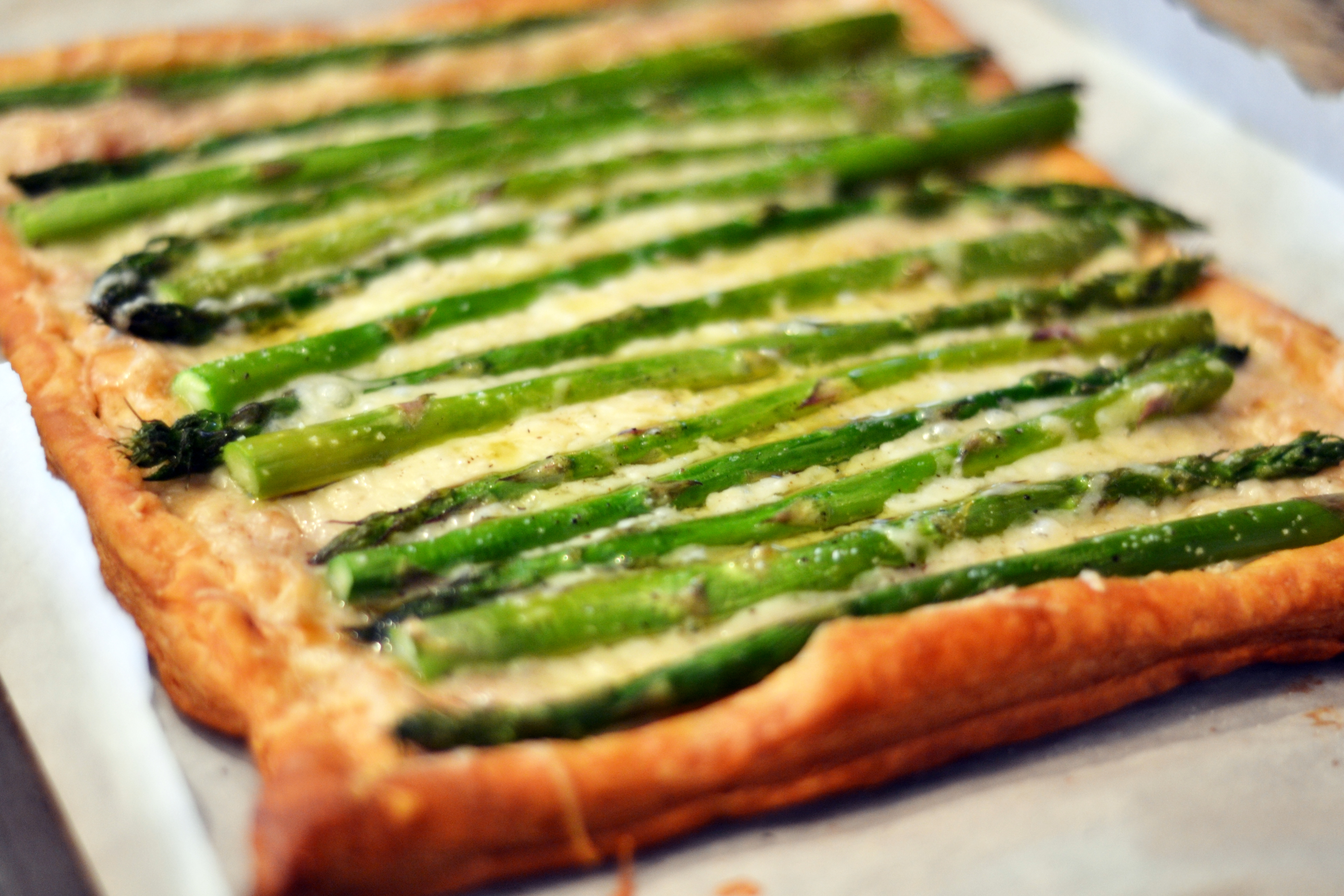 tart asparagus and walnut phyllo pie aka asparagus baklava with ...