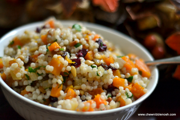 Couscous With Crispy Pancetta And Butternut Squash Recipe ...