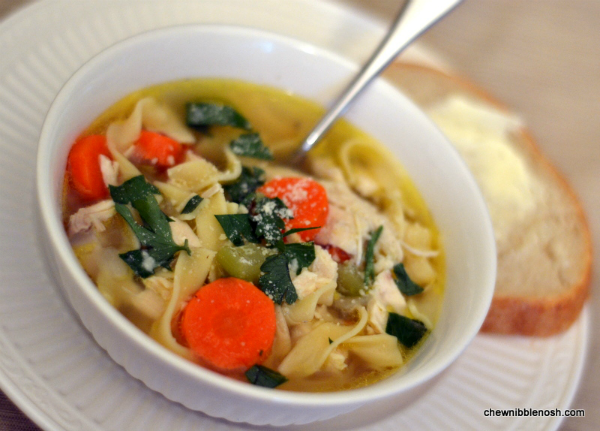 chicken noodle soup recipe from scratch