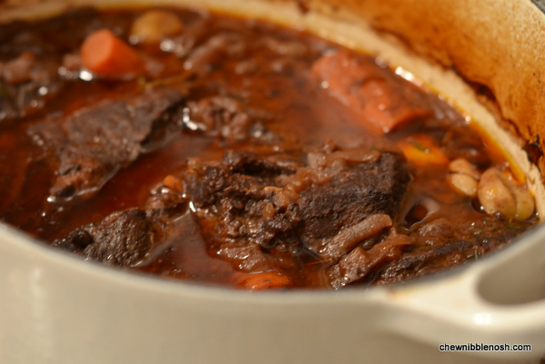 Braised Beef Short Ribs -Chew Nibble Nosh