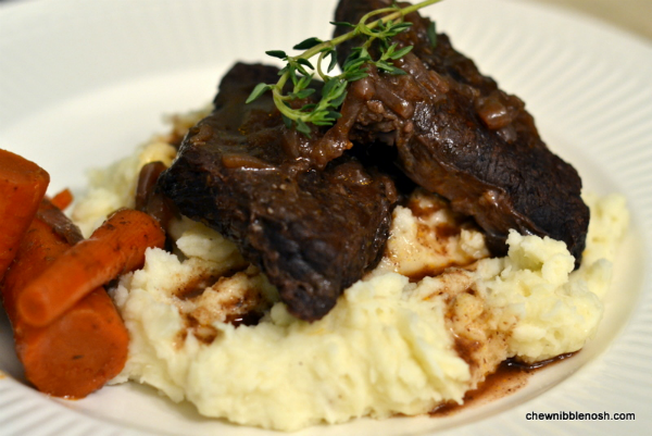Braised Beef Short Ribs - Chew