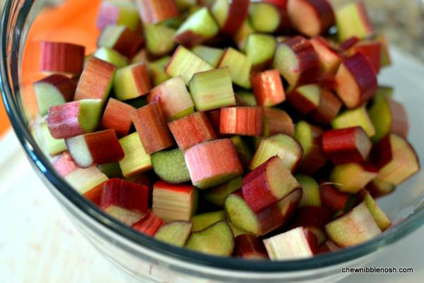 Rhubarb and Raspberry Crostata - Chew Nibble NoshChew Nibble Nosh