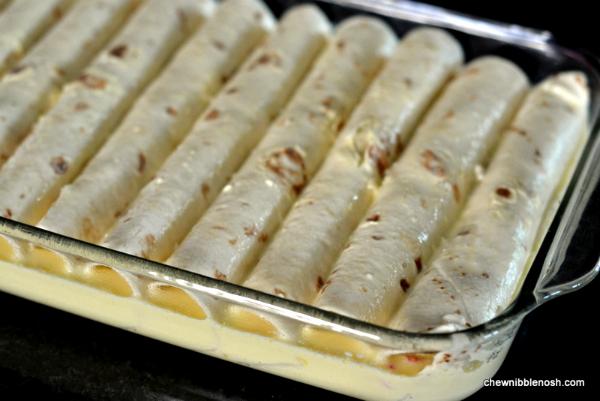 Easy Overnight Breakfast Enchiladas 3 - Chew Nibble Nosh