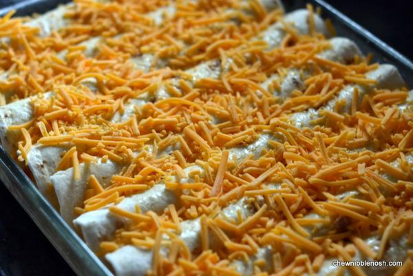 Easy Overnight Breakfast Enchiladas 4 - Chew Nibble Nosh