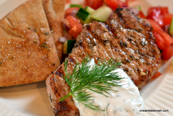 ... greek pork is it grilling season where grilled greek style pork chops