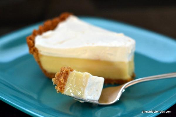 Lemon Ice Box Pie Recipe — Dishmaps