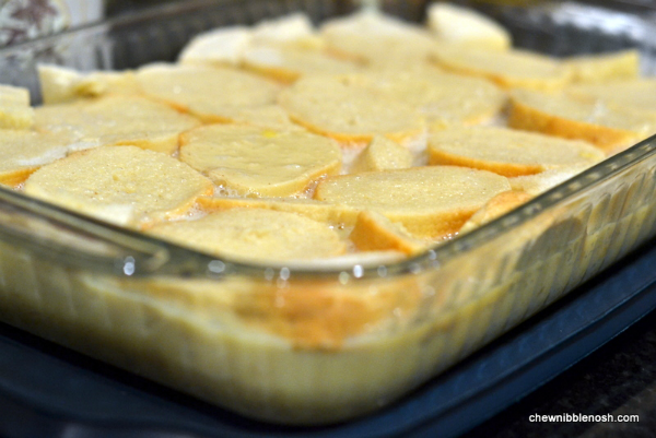 Overnight Baked Apple French Toast 2 - Chew Nibble Nosh