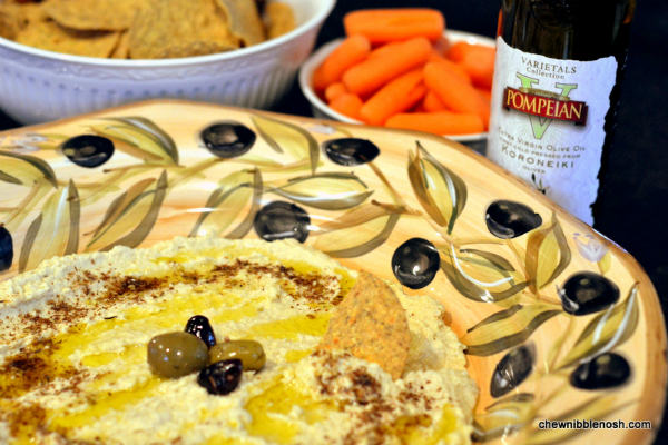 Artichoke and Lemon Hummus - Chew Nibble Nosh