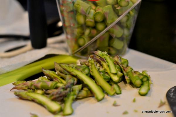 Asparagus and Potato Chowder 3 - Chew Nibble Nosh