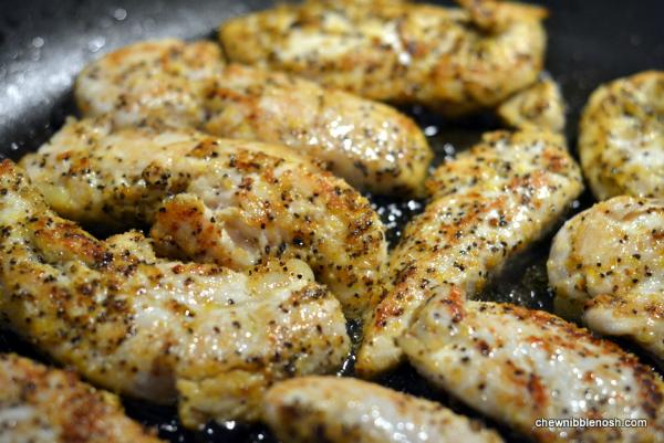 Quickie Chicken Caesar Salad 3 - Chew Nibble Nosh