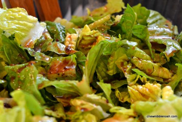 Quickie Chicken Caesar Salad 4 - Chew Nibble Nosh