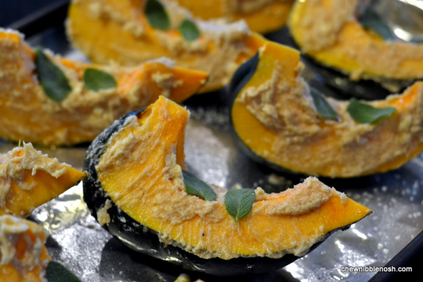 Roasted Ambercup Squash With Brown Butter Recipe — Dishmaps
