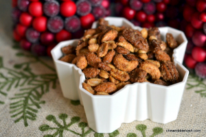Sweet & Savory Spiced Nuts - Chew Nibble Nosh 5