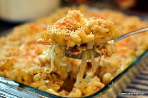 Irish Colcannon Mac & Cheese - Chew Nibble Nosh 6