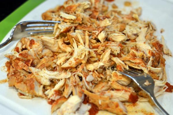 Slow Cooker Chicken Tortilla Soup - Chew Nibble Nosh 4