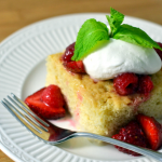 Tres Leches Cake with Berries