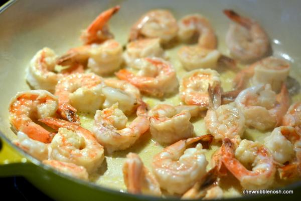 Shrimp Arrabbiata - Chew Nibble Nosh 2