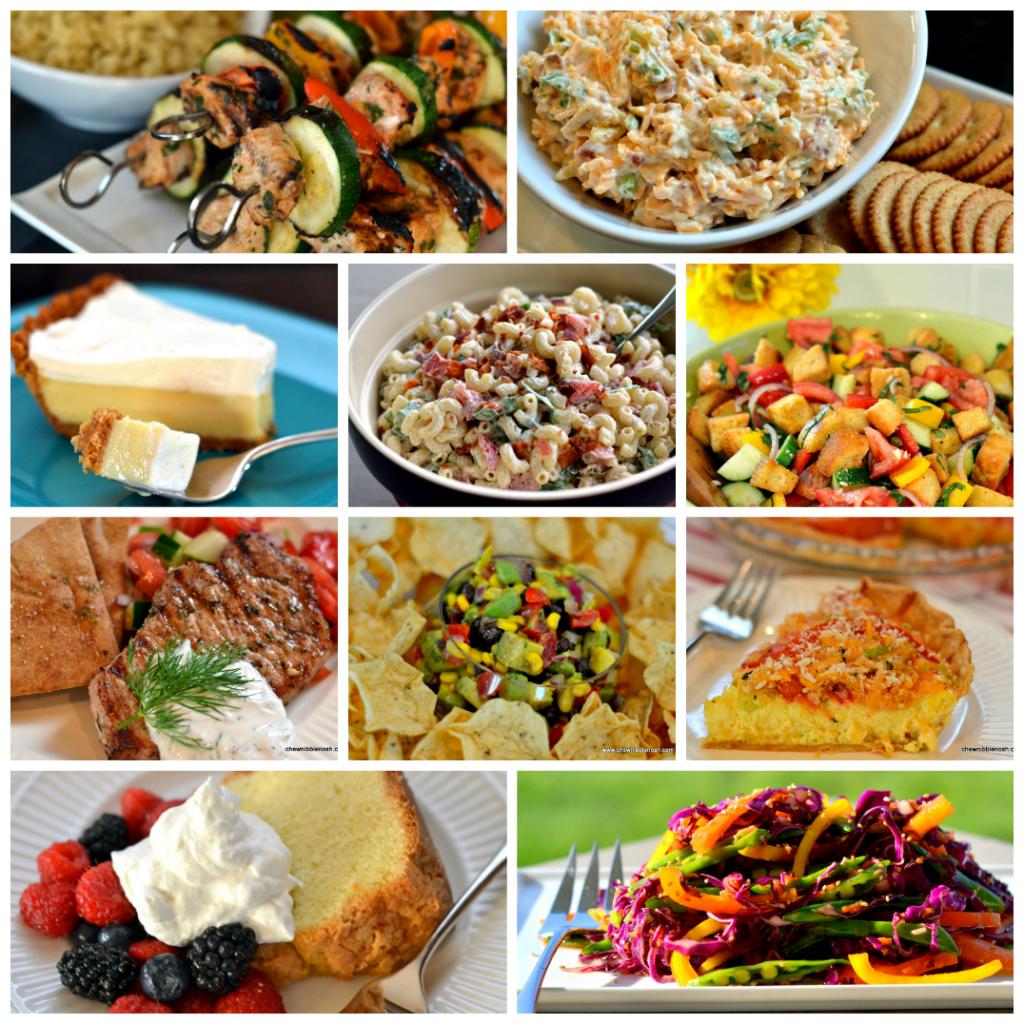 Top Ten Labor Day Cookout Recipes - Chew Nibble Nosh