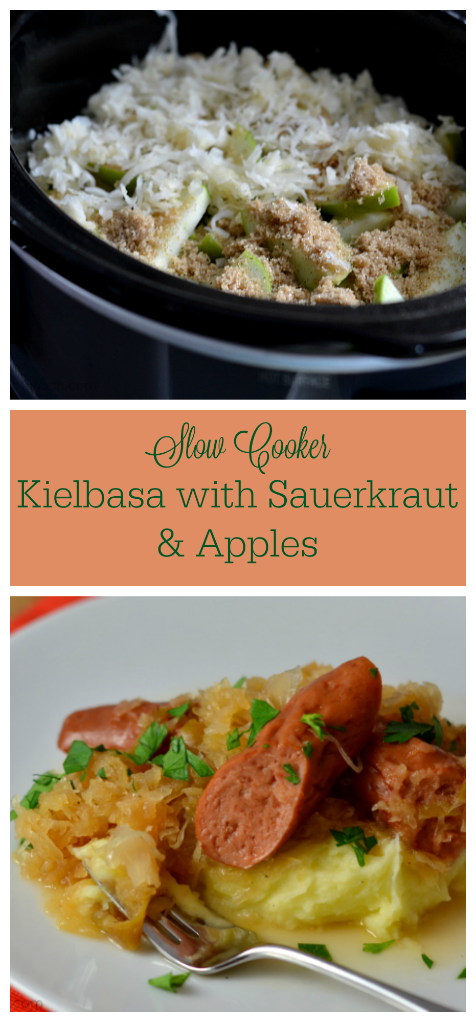 how to cook sauerkraut and kielbasa on the stove