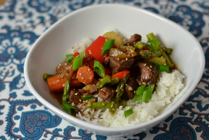 Asian Slow Cooker Beef Stew - Chew Nibble Nosh.