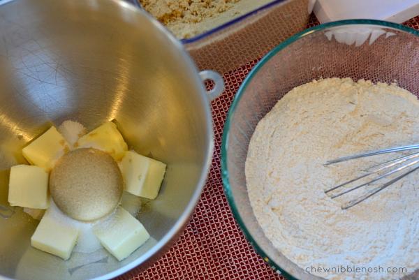 Valentine Heart Thumbprint Cookies - Chew Nibble Nosh 1