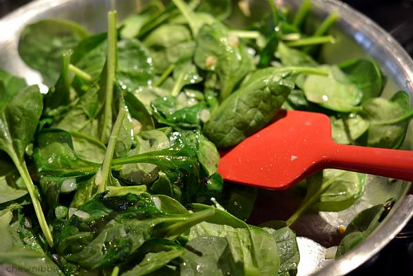 Lightened Up Ham & Spinach Quiche - Chew Nibble Nosh 3