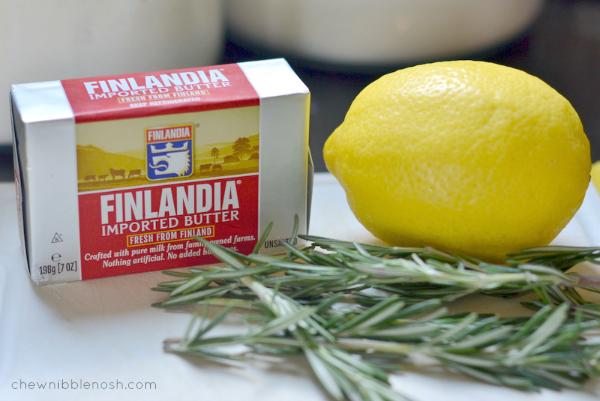 Sugared Lemon & Rosemary Scones - Chew Nibble Nosh 1