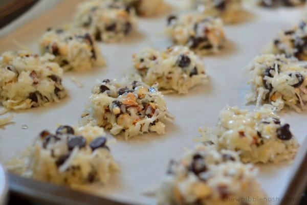 Almond Joy Cookies - Chew Nibble Nosh 3