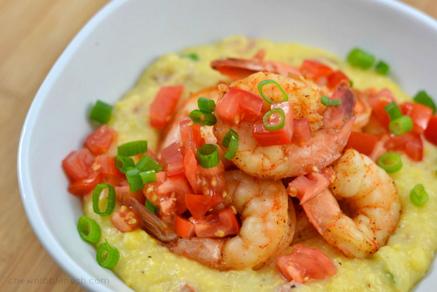 Rice Cooker Cajun Shrimp and Grits AND a Hamilton Beach Giveaway!